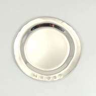 100  mm shallow sterling silver dish